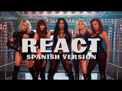 The Pussycat Dolls - REACT (Spanish Version)