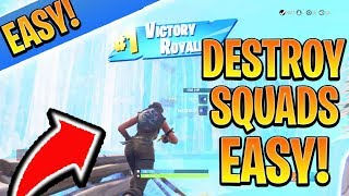 BEST Fortnite Tips to Win SOLO vs SQUADS! Fortnite Ps4/Xbox Tips and Tricks! (How to Win Fortnite)