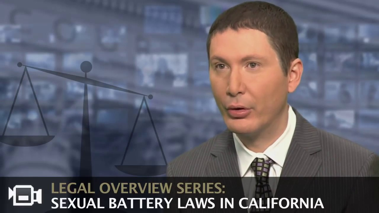 Sexual battery in california