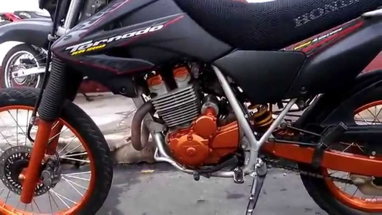 Moto Honda XR-250 Tornado/Modificada - YouTube