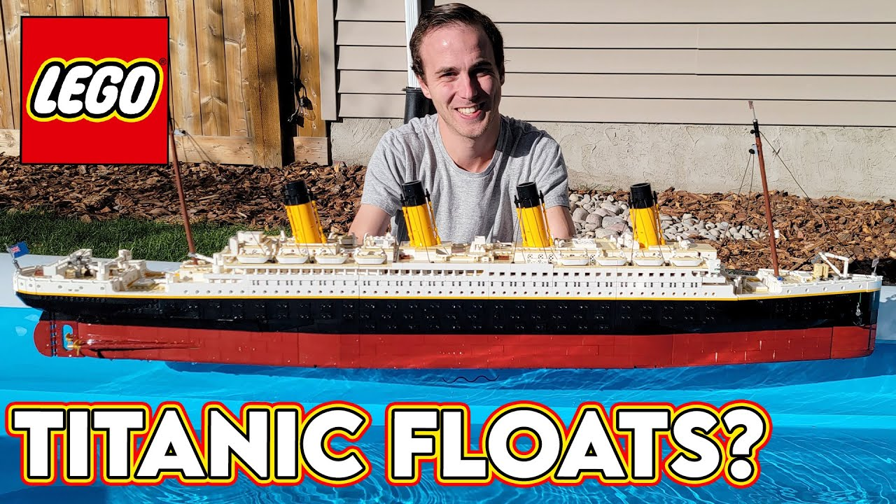 Download Does the LEGO TITANIC FLOAT!?