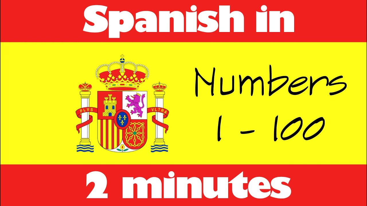 Spanish in 2 minutes - How to count in Spanish from number 1 to ...