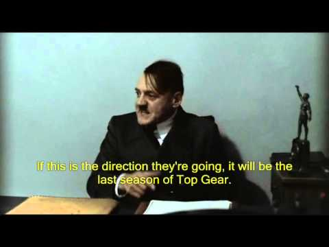 Hitler Is Informed Chris Evans Is The New Host Of Top Gear