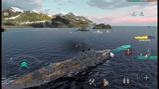 World of Warships Blitz - Wyoming Gameplay - First Impressions