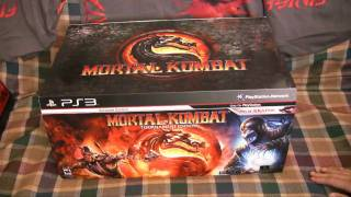 Mortal Kombat 9 Tournament Edition Unboxing!!! + MK SWAG!