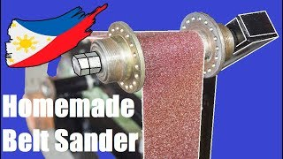DIY Belt Sander Grinder Using Bicycle Hub
