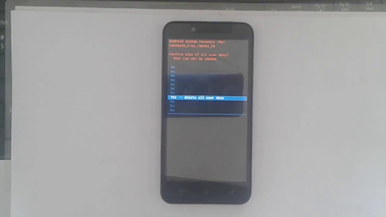 How To Hard Reset Lenovo Vibe C A2020a40