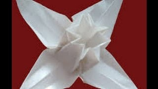 Origami flower by František Grebeníček