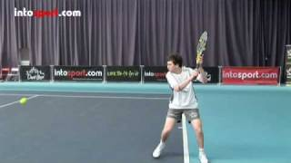 Tennis Backhand- Slice Technique