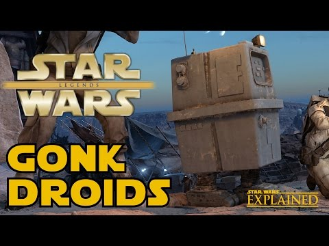 All About Gonk Droids  Star Wars Explained
