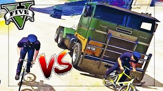 CRAZIEST GAMEMODE EVER!? BIKES VS TRUCKS!