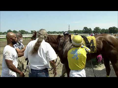 video thumbnail for MONMOUTH PARK 07-19-20 RACE 4