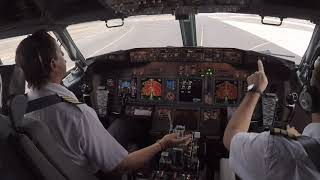 Boeing 737-800 - Start and Takeoff Procedure - Santiago de Chile -
