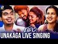 Spreading Like Wildfire Bigil S Unakaga Song Singers Sreekanth Hariharan Madhura Dhara Vijay