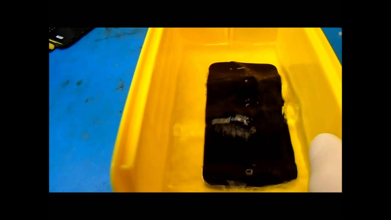 how to fix a phone that has been Dropped into salt water. - YouTube