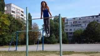 GirlTraining  street fitness