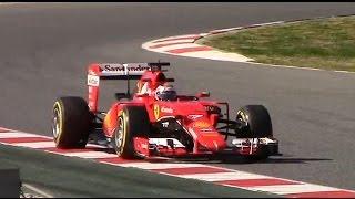 F1 2015 Test Montmeló Day 7 - McLaren-Honda Engine Failure