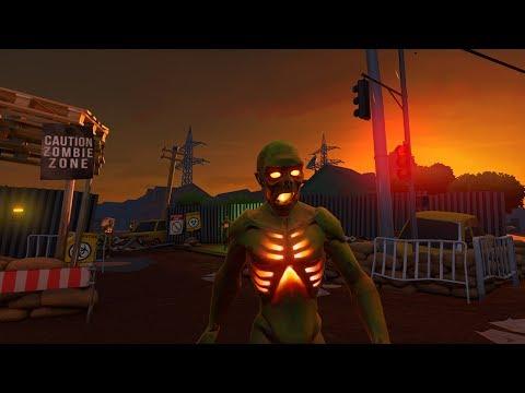 ZR: Zombie Riot - Release Trailer [VR, HTC Vive, Oculus Rift]