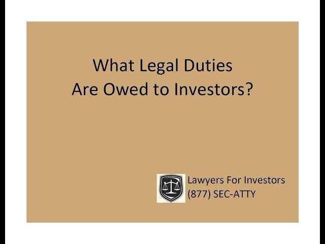 Securities Arbitration Attorneys