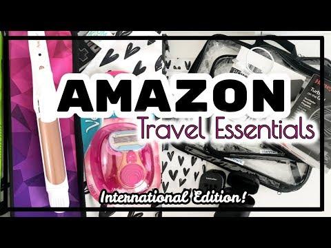 Amazon Travel Essentials | International Travel | Top Amazon Travel Purchases | TRAVEL |