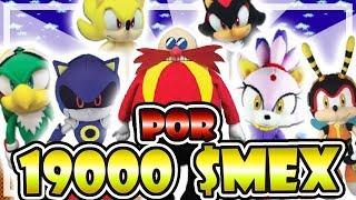 PELUCHE DE SONIC POR 19000 $MEX 💰