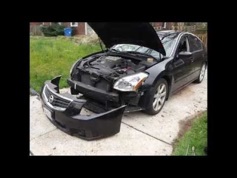 hqdefault 2007 nissan maxima headlight bulb replacement (how to) youtube  at n-0.co