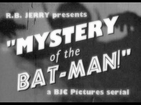 Mystery of the Batman! (1939) - Original Serial Trailer