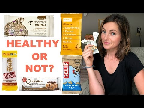 HEALTHY PROTEIN BARS | What's Actually Healthy and Who's Tricking You!