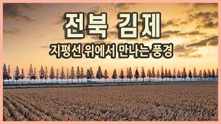 국내여행 전라북도 김제 지평선 여행 / 금산사, 벽골제…