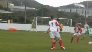 CORNISH FOOTBALL ST DENNIS U18sV NEWQUAY u18s 2-2 DRAW