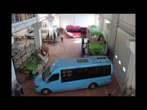 Mercedes Benz Sprinter 516 Line Bus Low Floor By Megabus Automotive Youtube