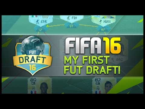 MY FIRST FUT DRAFT! - Fifa 16 Ultimate Team