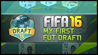 MY FIRST FUT DRAFT! - Fifa 16 Ultimate Team