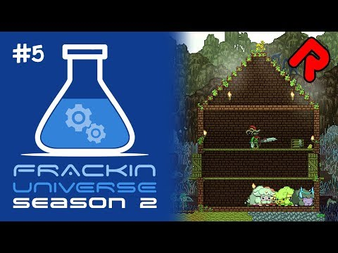 Automation for Farming, Centrifuge & Extraction! | Let's play Starbound Frackin' Universe S2 ep 5