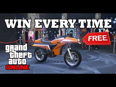 HOW TO WIN THE LUCKY WHEEL PODIUM VEHICLE EVERY TIME IN GTA 5 ONLINE (LUCKY WHEEL SPIN GLITCH GTA 5)