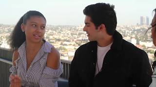 Diego Tinoco and Sierra Capri Interview- ON MY BLOCK (pt3)