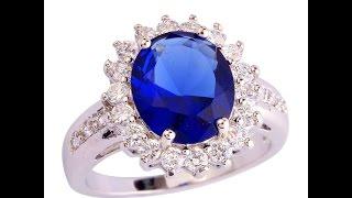 Кольца с сапфиром - фото 2017 / Sapphire ring(, 2015-11-22T18:11:43.000Z)