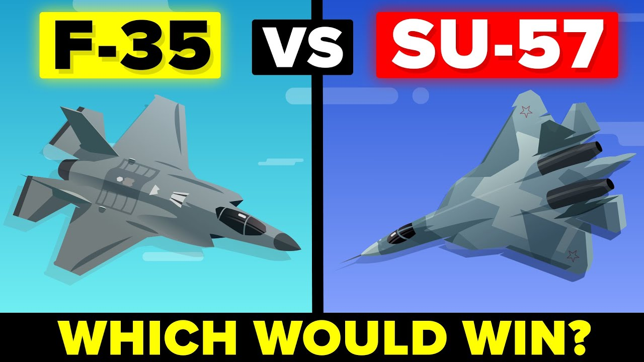 United States F-35 vs Russian Sukhoi Su-57 - Which Would Win?