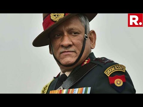 Army Chief General Bipin Rawat To Visit Srinagar To Review Security In Kashmir Valley