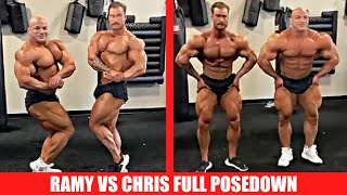 Chris Bumstead and Big Ramy Posedown (Full Video)