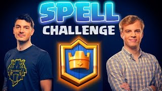 Clash Royale vs Chief Pat! SPELL Cards Only!