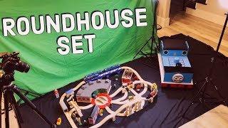 Thomas Wooden Railway - Roundhouse Set 1997 Unboxing & Review