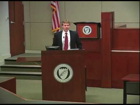 """Moral Duty and the Rule of Law"" - Judge William A. Pryor Jr."