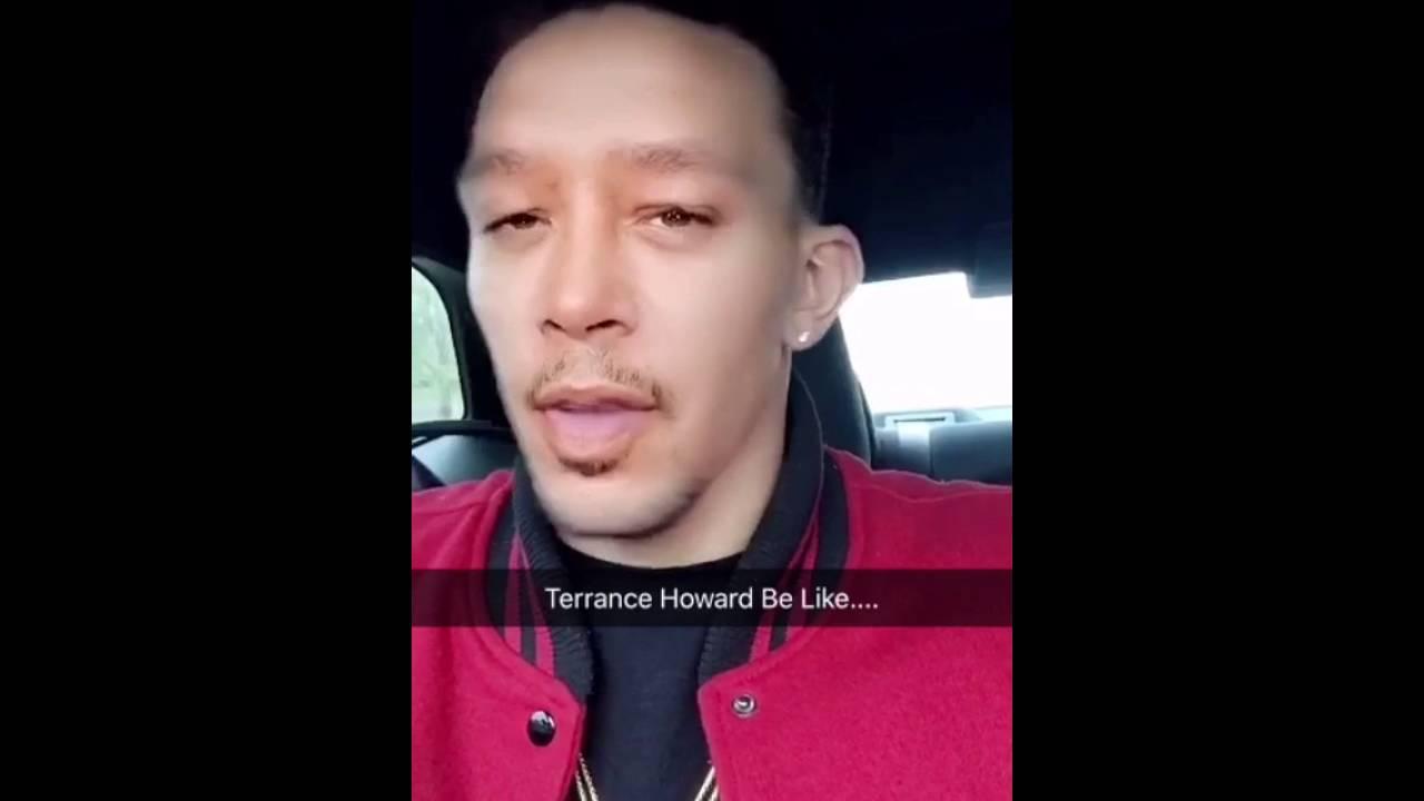 khleo thomas impersonating terrance howard youtube