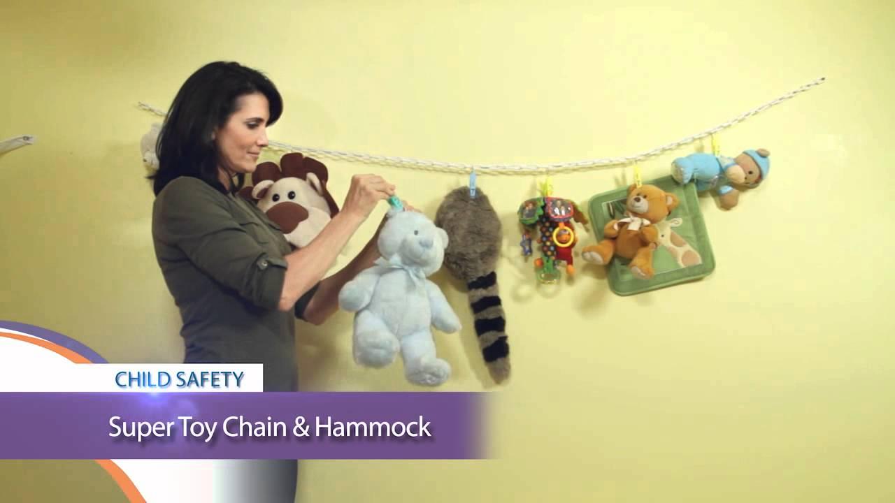 child safety tip   super toy chain  u0026 hammock  605    youtube  rh   youtube