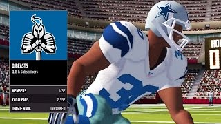 Madden NFL 16 Mobile Gameplay - Download Madden Mobile 16 & JOIN MY LEAGUE!
