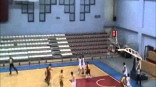 Berkan Akgul 2011-2012 Basketball Galatasaray.wmv