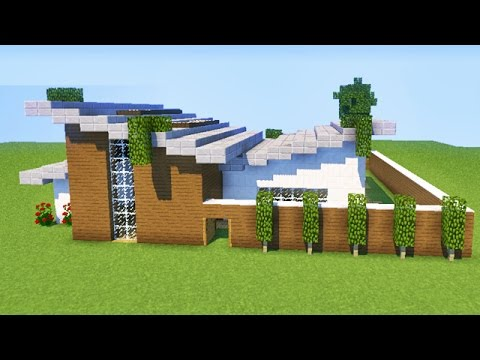 Minecraft tuto comment faire une belle maison youtube - Tuto belle maison minecraft ...