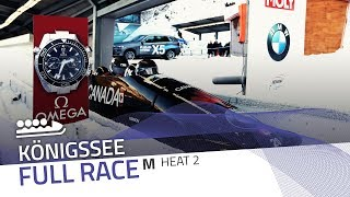KÖnigssee | BMW IBSF World Cup 2017/2018 - 4-Man Bobsleigh Heat 2 | IBSF Official
