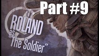 Borderlands Walkthrough Part 9 - Soldier Gameplay Commentary HD 1080p 60fps Playthrough
